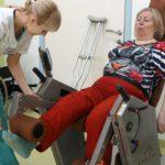 ЛФК после операции на коленный сустав