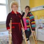Операция по замене коленного сустава — Галина Павленко и Юлия Салаутина