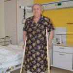 Отзыв после эндопротезирования тазобедренного сустава — Алефтина Басова, 77 лет, г. Нижний Тагил